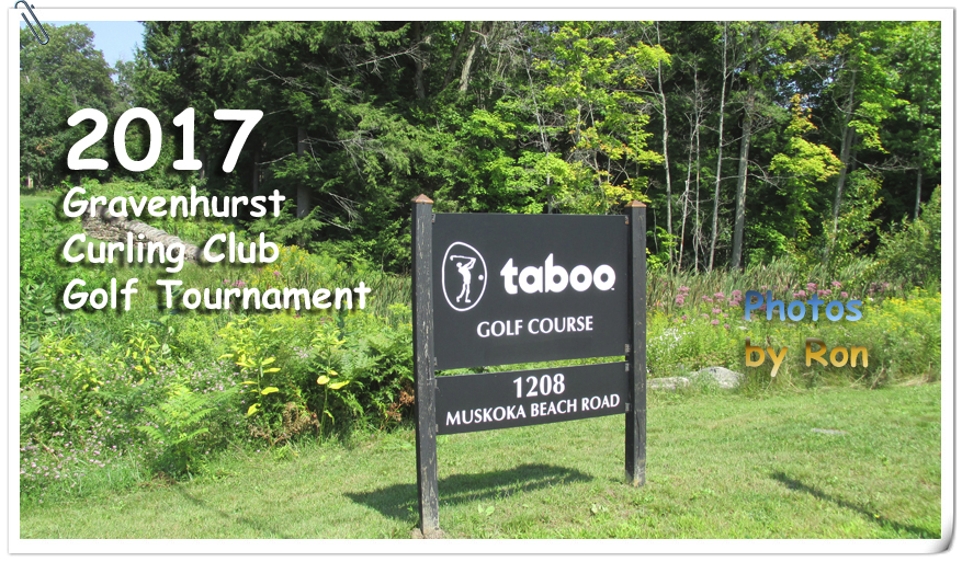 Curling Club Golf Tournament Aug 20th at Taboo