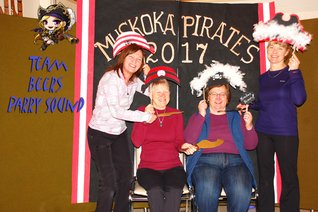 Muskoka Parry Sound Ladies Bonspiel 2017