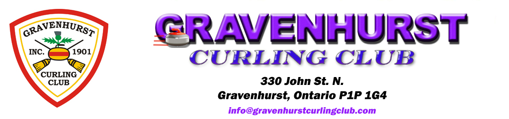 Gravenhurst Curling Club banner